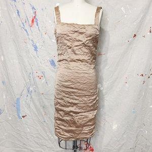 Lanvin - Silky mini dress - Champagne color